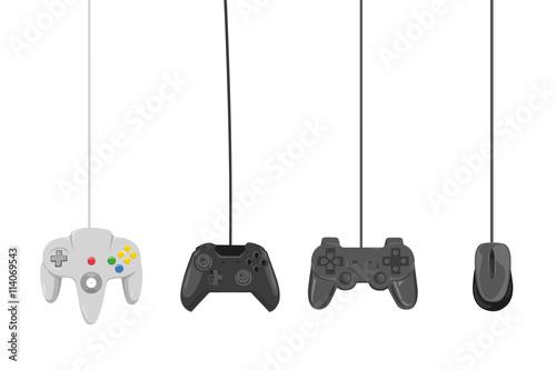 Photo  vier verschiedene controller