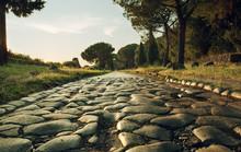 Antique Road In Rome