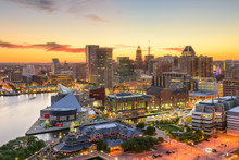 Baltimore Maryland Skyline