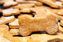 Batch Of Homemade Dog Biscuits
