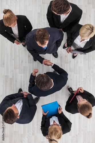 Fotografía  Business people shaking hands