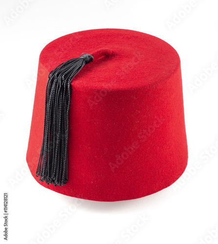 Fotomural  moroccan fez isolated