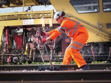 Railway Maintenance Worker Tig...