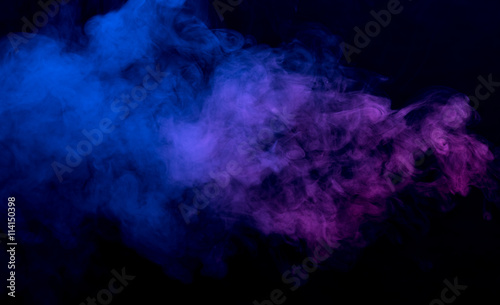 Foto op Plexiglas Rook Abstract smoke background