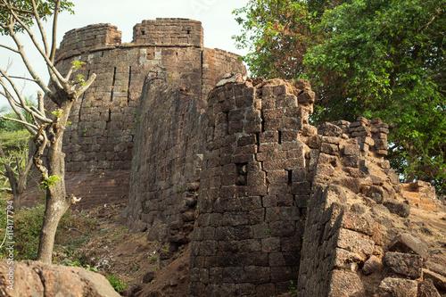 Foto op Aluminium Rudnes old ruined Fort