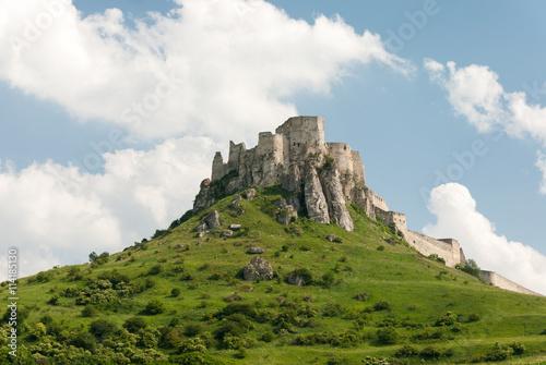 Recess Fitting Ruins Spis castle - Unesco heritage
