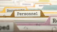 File Folder Labeled As Personn...