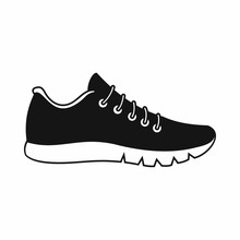 Sneakers Icon, Simple Style