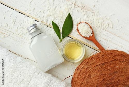 Fotografía  Coconut natural beauty treatment