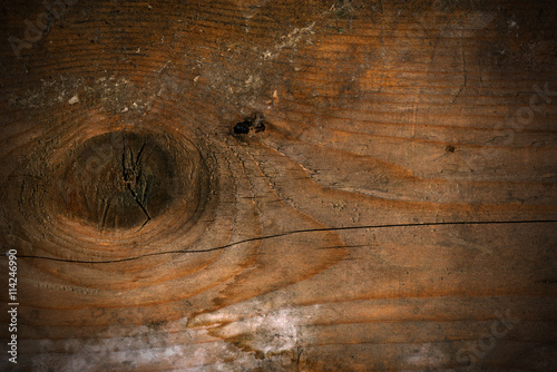 Old Wooden Background with Knot - Buy this stock photo and