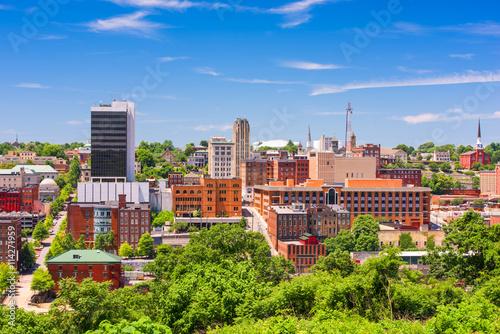 Recess Fitting Blue sky Lynchburg, Virginia, USA Skyline