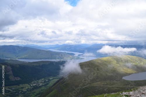 Foto op Plexiglas Panoramafoto s Views from Ben Nevis
