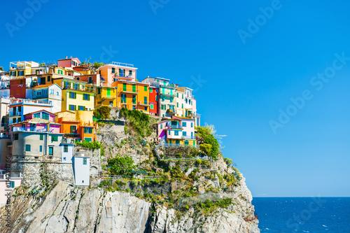 Poster de jardin Europe Méditérranéenne Manarola, Cinque Terre, Italy