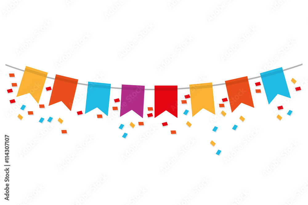 Fototapeta party banner icon