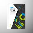 Modern brochure, report or flyer design template
