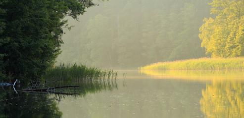 Fototapeta Zmierzch Nad Jeziorem