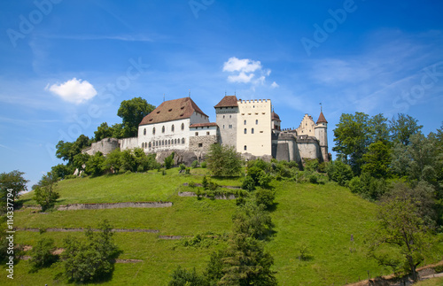 Plakat Zamek Lenzburg
