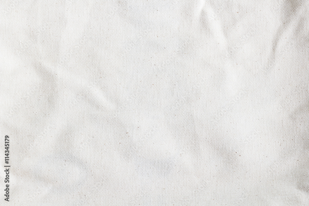 Fototapety, obrazy: white canvas texture background