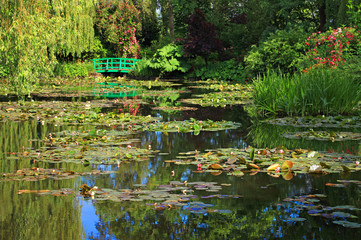 Obraz na Szkle Giverny, jardin d'eau