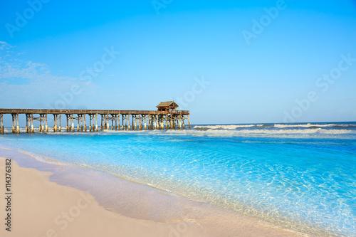 Cuadros en Lienzo  Cocoa Beach pier in Cape Canaveral Florida