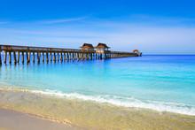 Naples Pier And Beach In Flori...