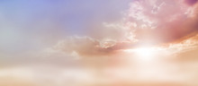 Dreamy Romantic Sky Scape - Be...