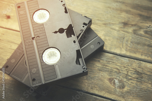 old  video tape Fototapet