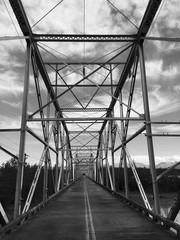 Czarny i biały most