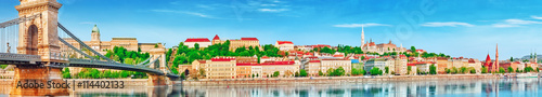 Panoramic view to one of the most beautiful cities in Europe- Bu