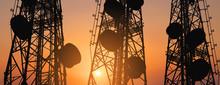 Silhouette, Telecommunication ...