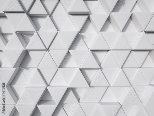 abstract white modern technology background 3d rendering