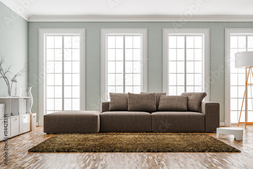 Helles Wohnzimmer Altbau Buy This Stock Illustration And Explore