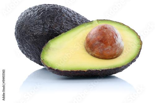 Fotografie, Obraz  Avocado Avocados Frucht Früchte Obst Freisteller freigestellt i