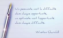 Citation De Développement Personnel : Winston Churchill
