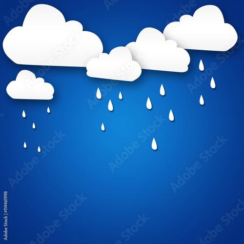 Poster Ciel Weather cartoon