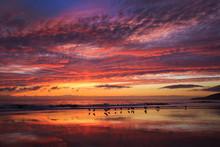Brilliant Sunset At El Capitan...