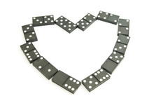 Heart From Dominoes
