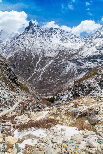 Fotografie, Obraz  Colorful autumn in Yading national level reserve, Daocheng, Sich