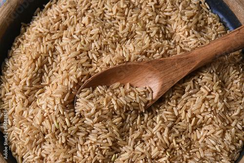 Brown Rice Wood Spoon
