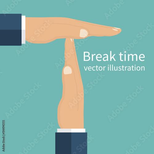 break from work Wallpaper Mural