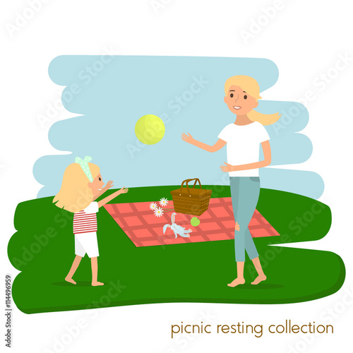 picnic in my summer vacations