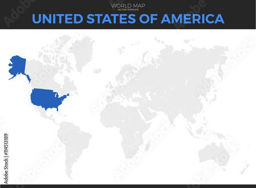 United States of America (USA), United States (U.S.) or America ...