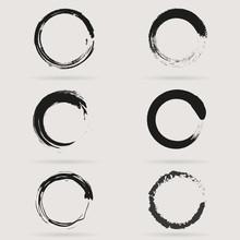 Set Of Circles. Vector Set Of ...