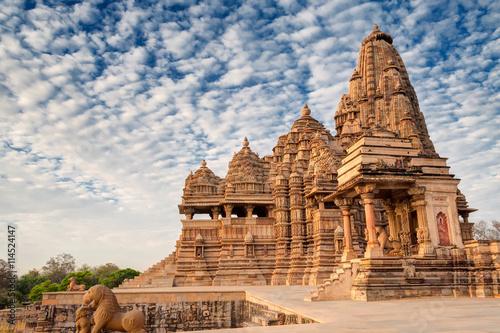 Fotografie, Obraz  Kandariya Mahadeva Temple, Khajuraho, India-UNESCO world heritage site