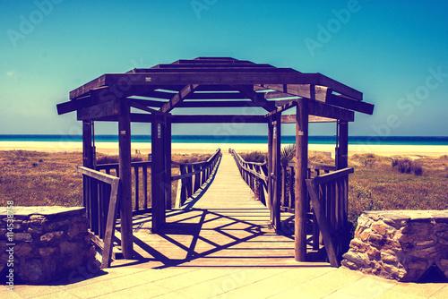 Fotografía  Beach of Rio Jara in Tarifa