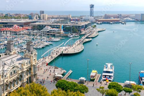 Papiers peints Barcelona Barcelona. The building of the port.