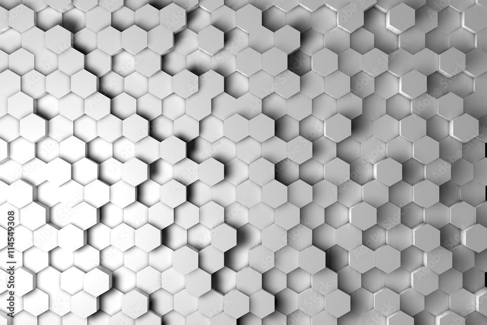 hexagonal background design
