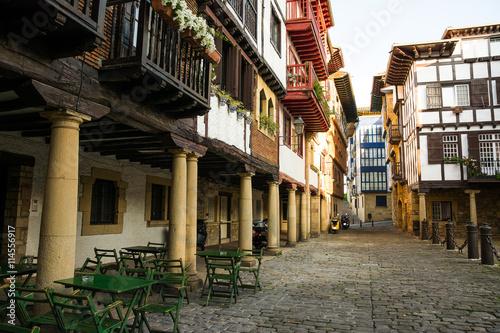 Fotografie, Obraz  plaza antigua de fuenterrabia