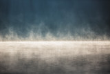 Morning fog on the lake - 114562745