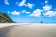Karekare beach in New Zealand